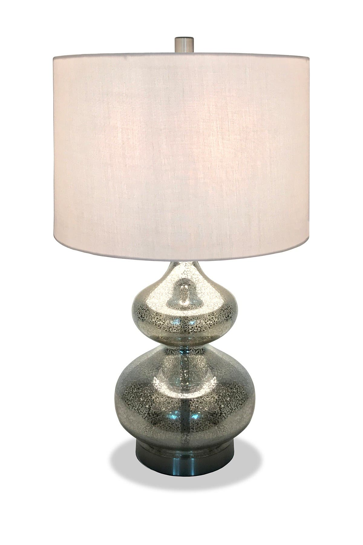 Image of Addison and Lane Katrin Table Lamp - Mercury Glass