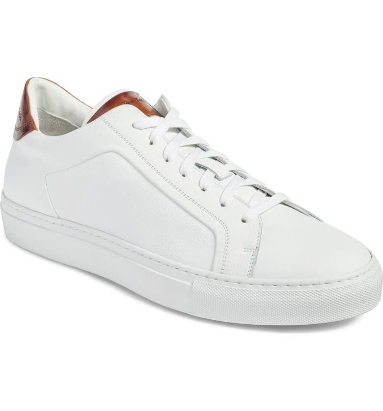 TO BOOT NEW YORK Carlin Sneaker, Main, color, WHITE/ TAN LEATHER