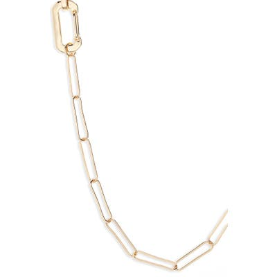 Bp. Long Linear Link Chain Necklace