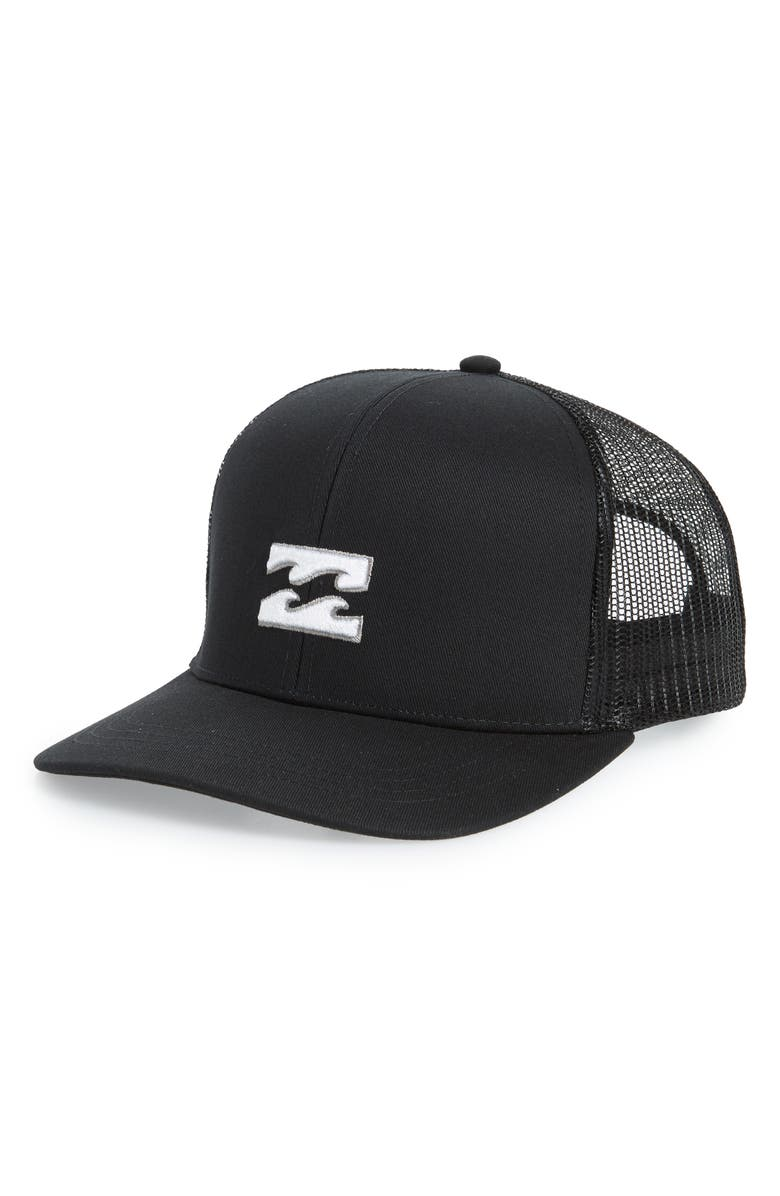 BILLABONG All Day Trucker Hat, Main, color, STEALTH