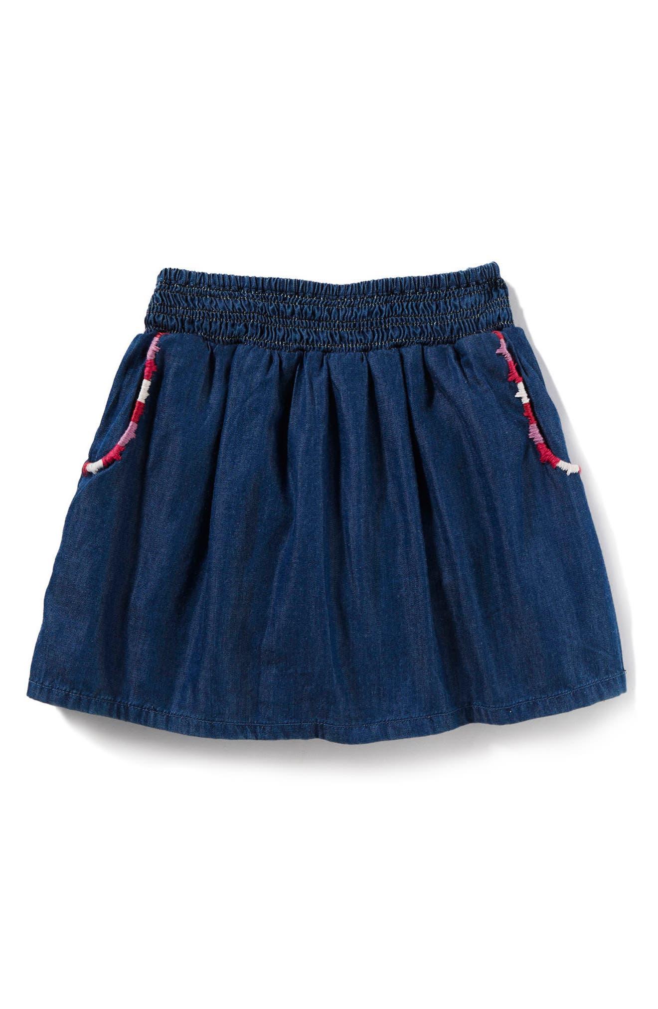 Infant Girls Peek Bellen Skort Size S (36m)  Blue