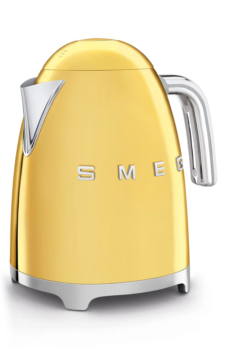 SMEG '50s Retro Style Electric Kettle, Main, color, GOLD
