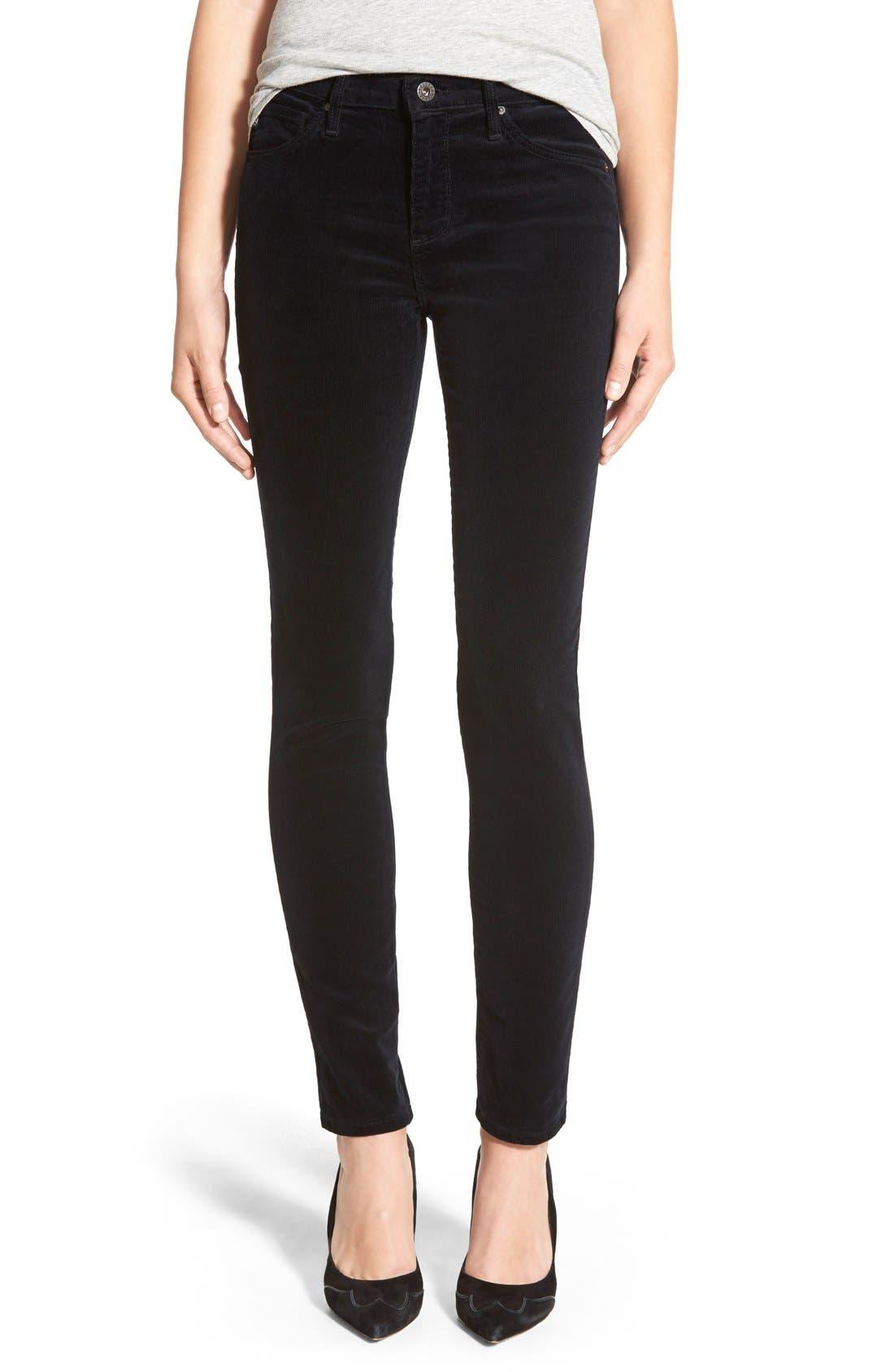 Women's AG 'Prima' Corduroy Skinny Pants