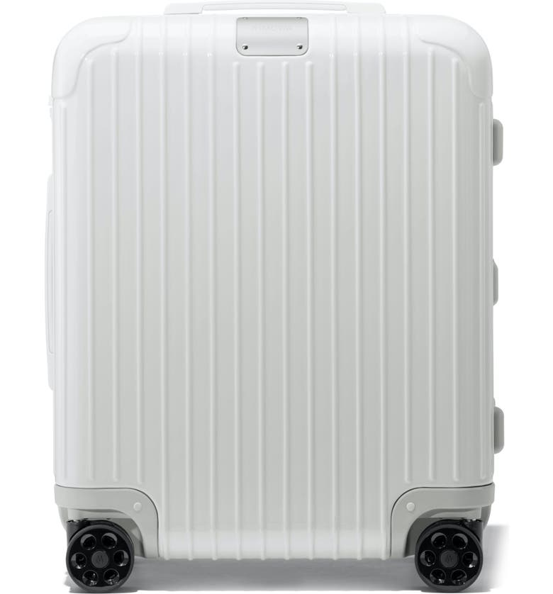 RIMOWA Essential Cabin Plus 22-Inch Wheeled Carry-On, Main, color, WHITE