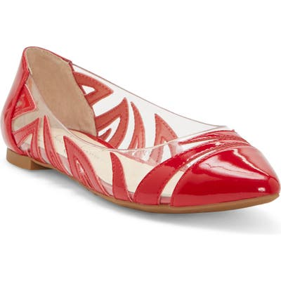 Jessica Simpson Zaina Flat- Red