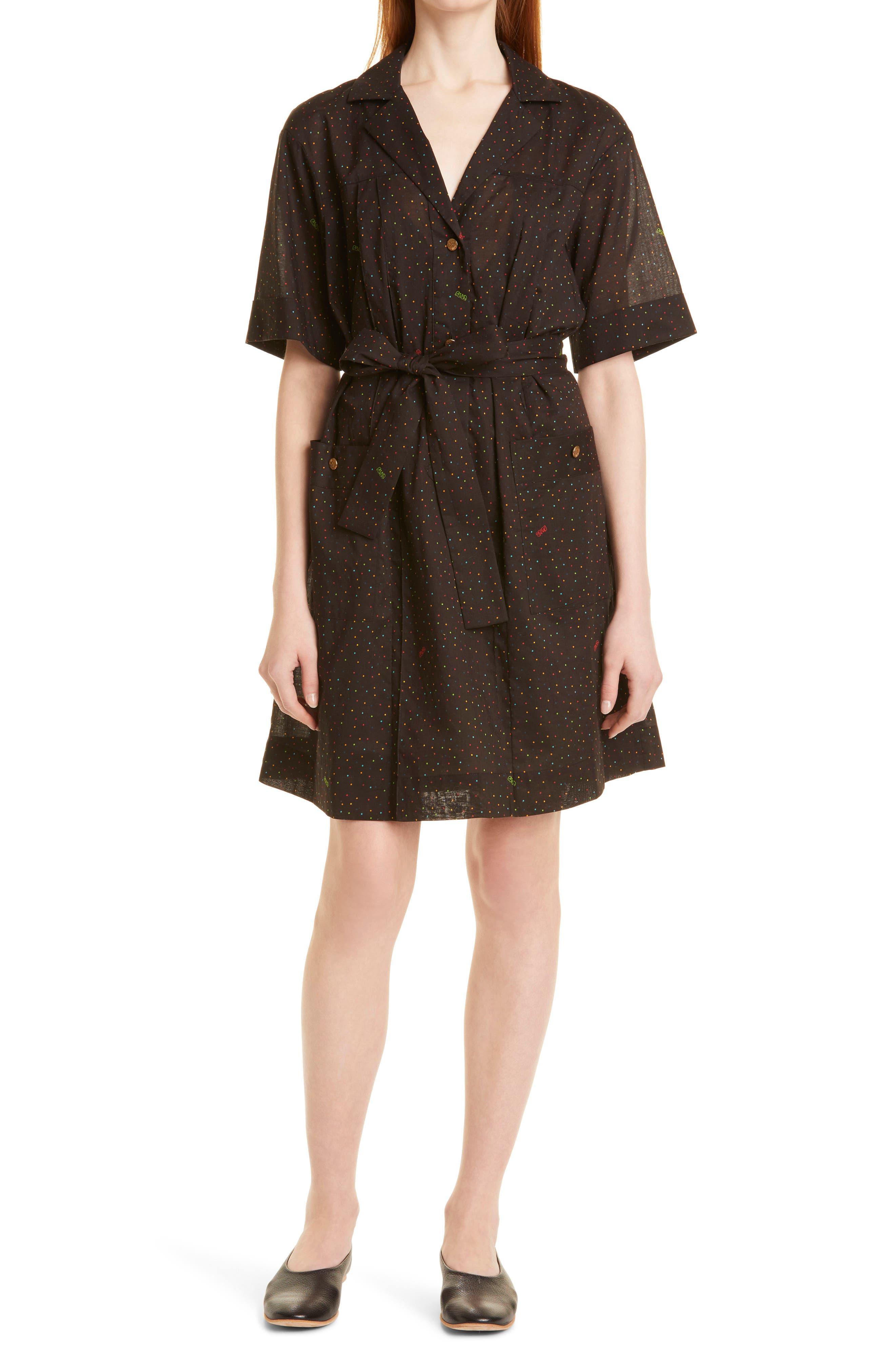 Safari Belted Dress