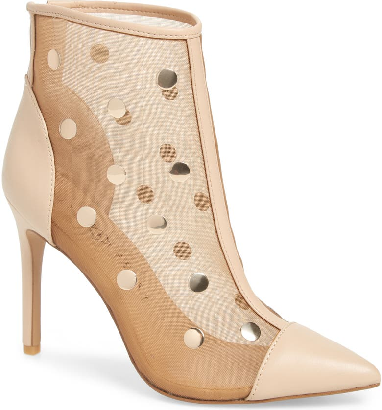 KATY PERRY The Jeffree Bootie, Main, color, NEW NUDE FABRIC