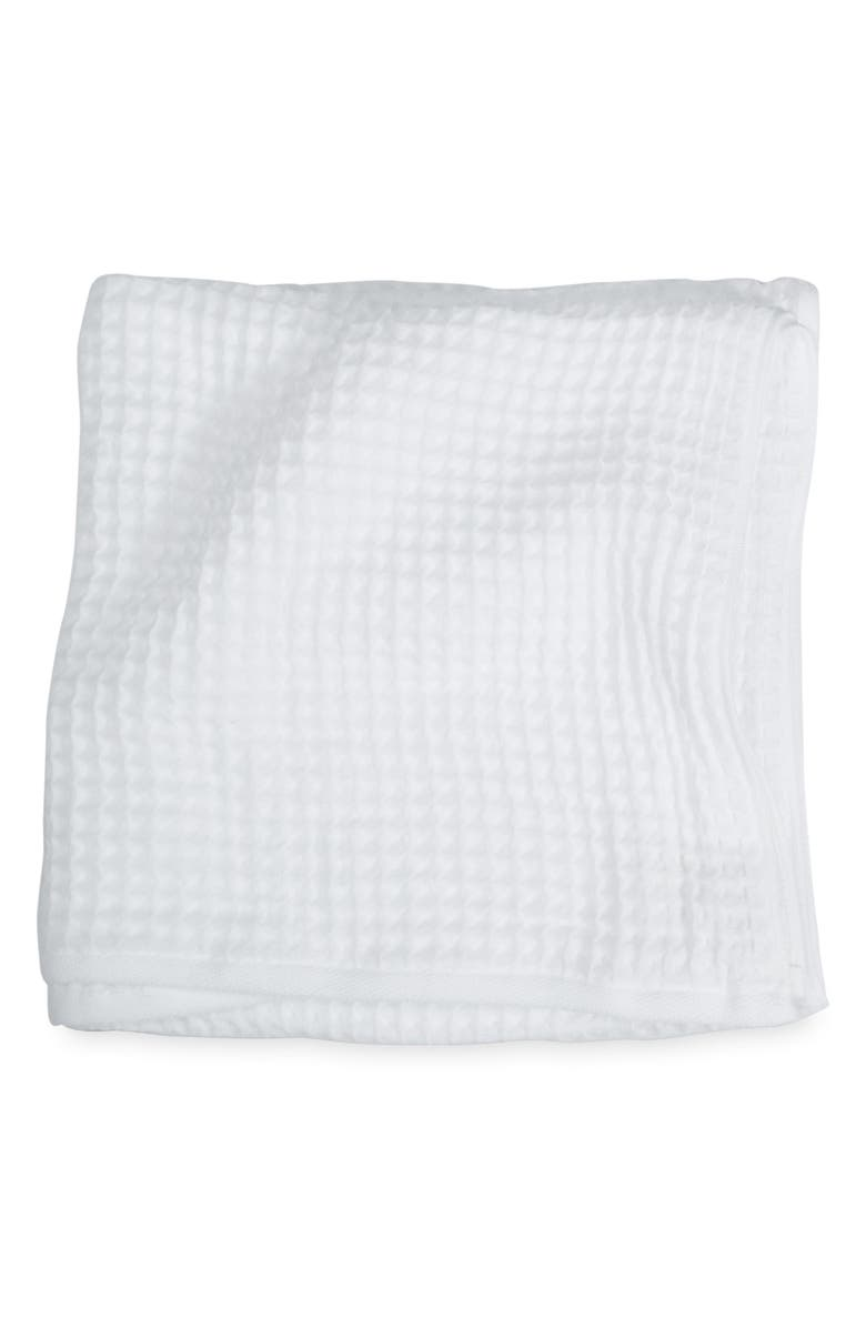 UCHINO Air Waffle Bath Towel, Main, color, WHITE