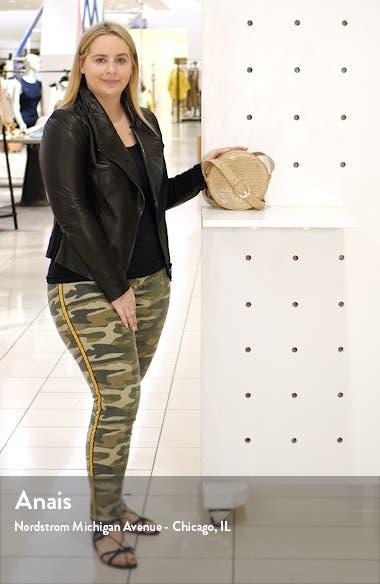 Gina Leather Circle Crossbody Bag, sales video thumbnail