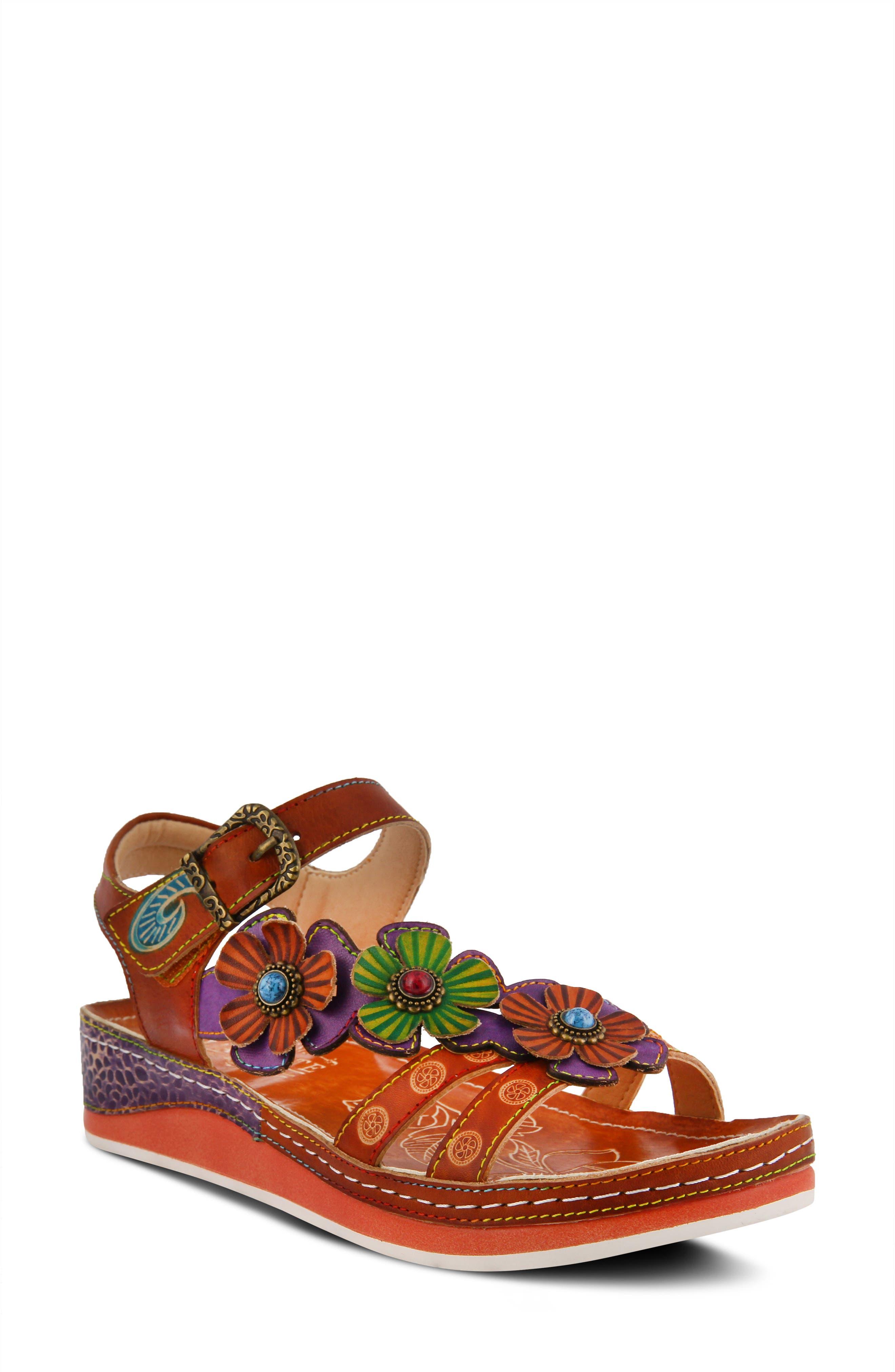 Goodie Wedge Sandal