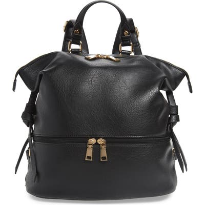 Sole Society Cyndi Faux Leather Backpack - Black