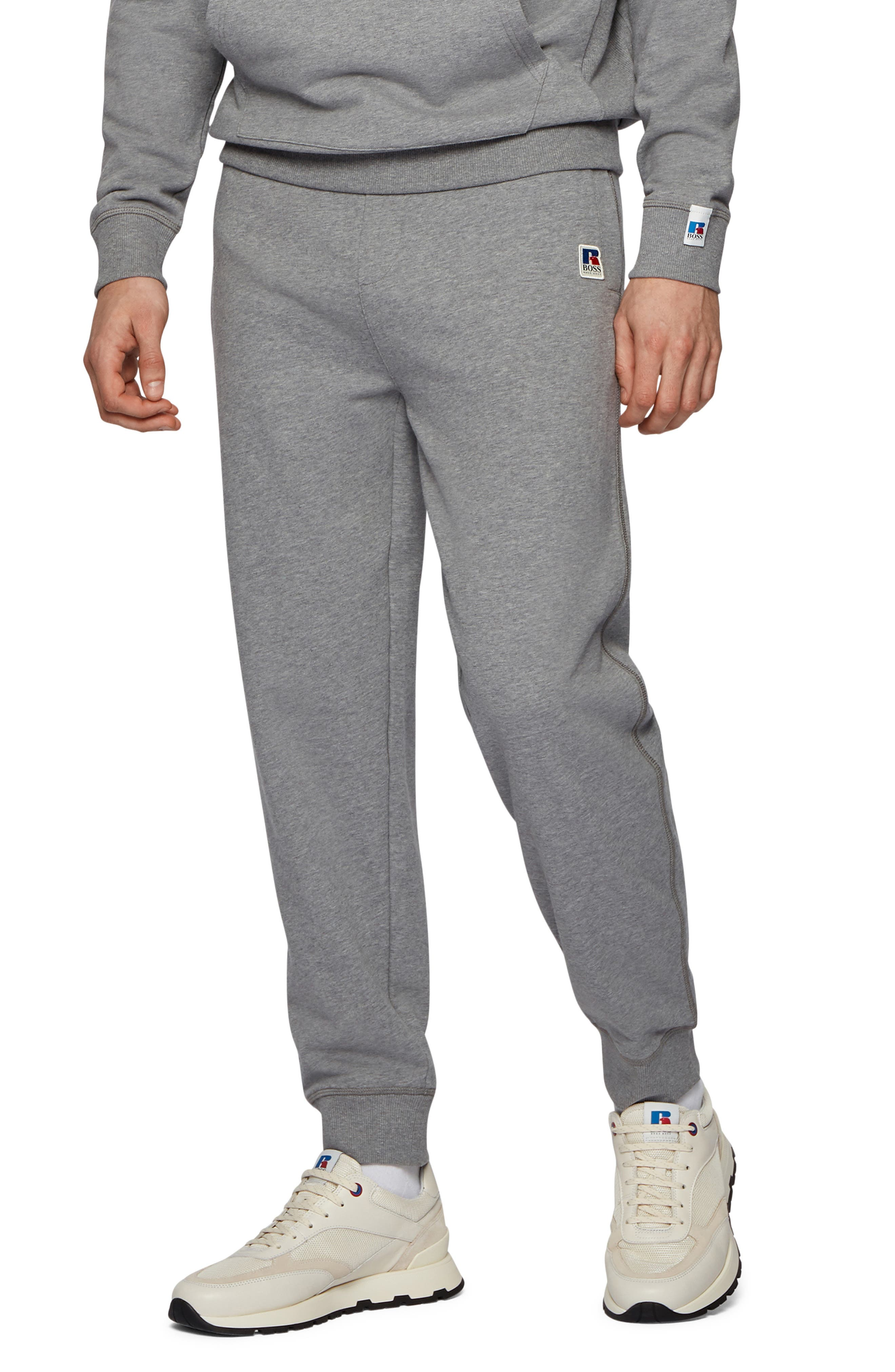 Boss x Russell Athletics Jafara Cotton Sweatpants