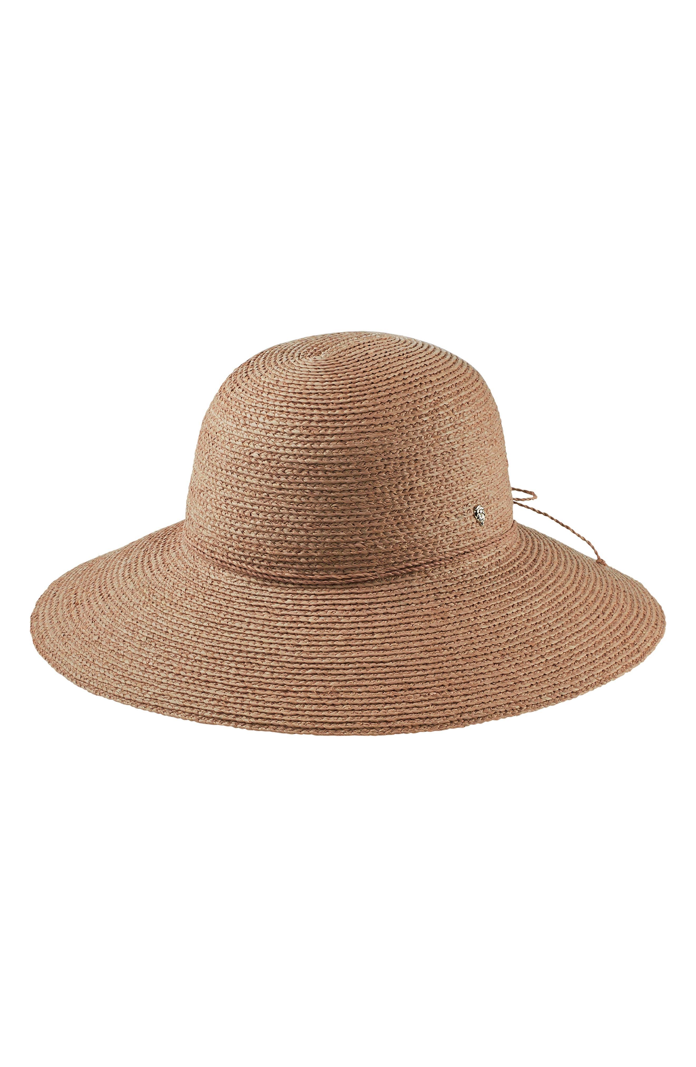 Delphina Wide Brim Hat