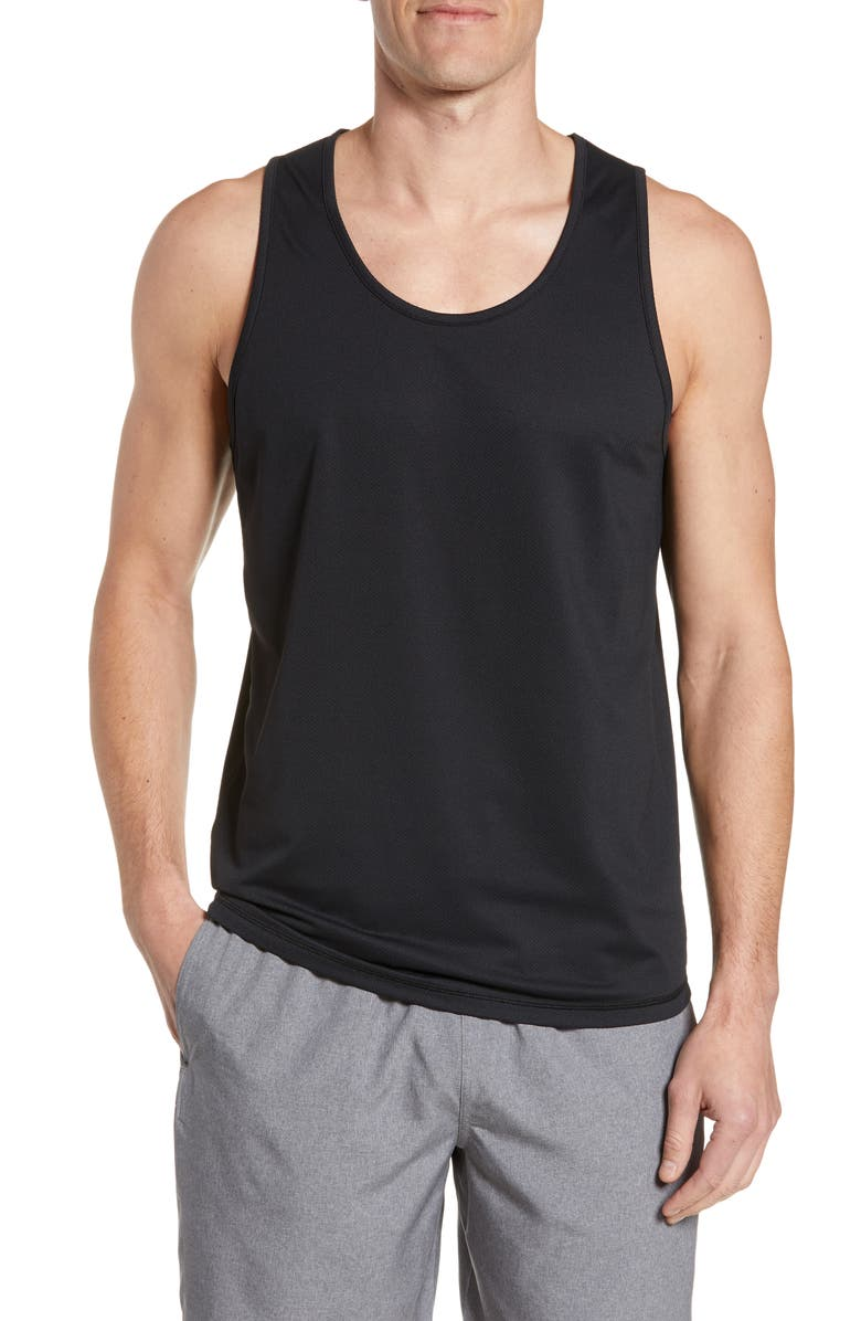 ZELLA Velorum Mesh Tank, Main, color, BLACK