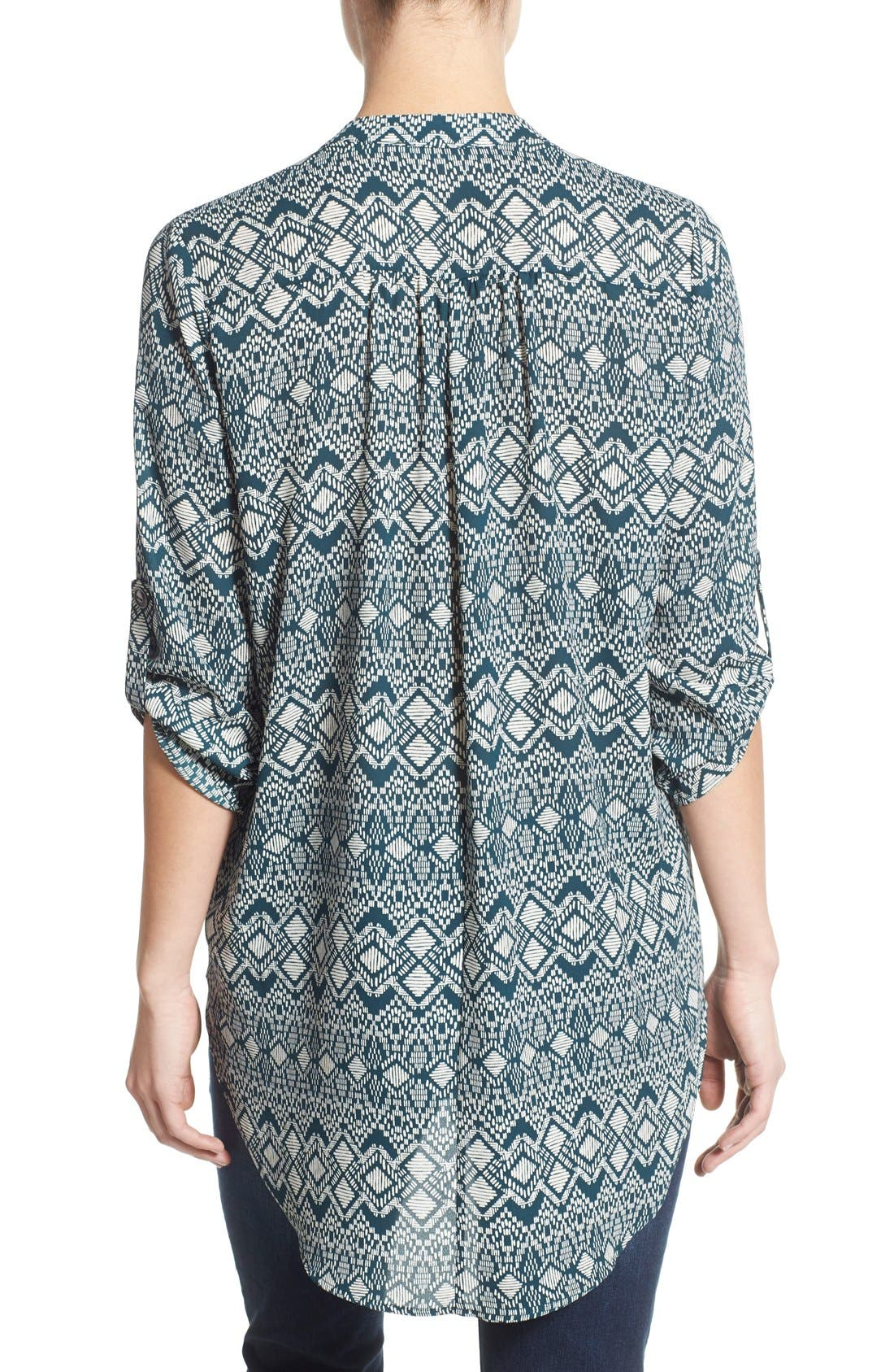 ,                             Perfect Roll Tab Sleeve Tunic,                             Alternate thumbnail 310, color,                             472