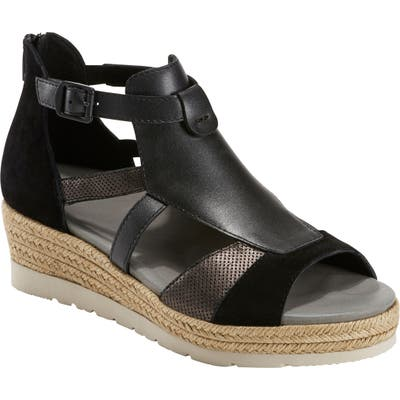 Earth Jasmine Sandal, Black