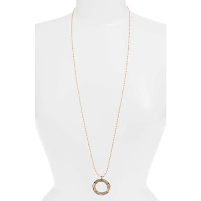 Something Navy Ring Pendant Necklace (Nordstrom Exclusive)