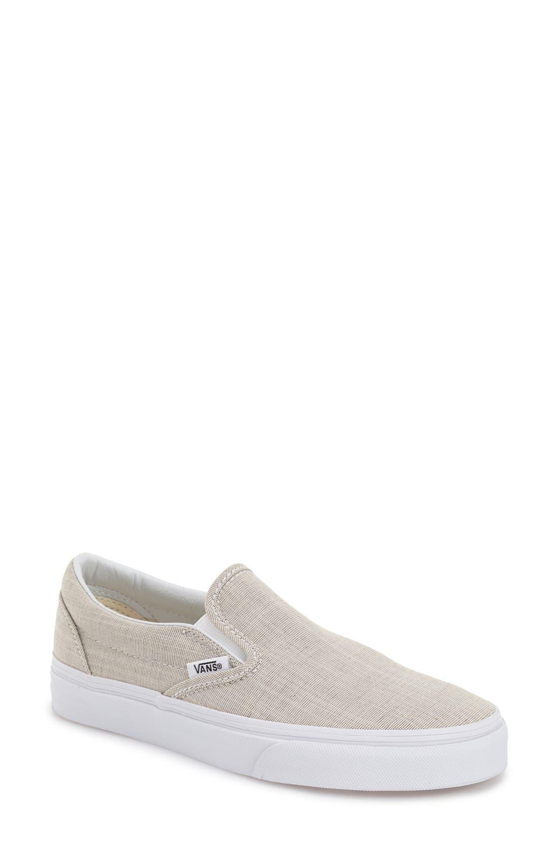 ,                             Classic Slip-On Sneaker,                             Main thumbnail 257, color,                             021
