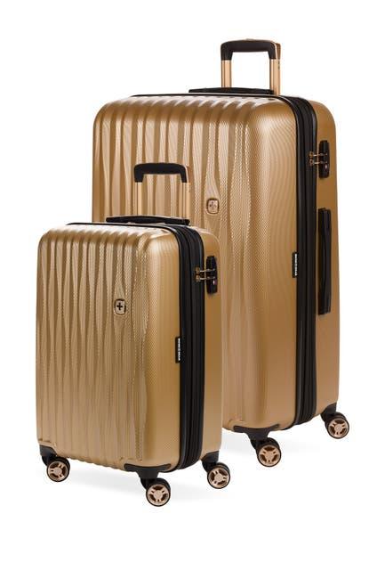 Image of SwissGear Energie Explandable Hardside Spinner Luggage 2-Piece Set