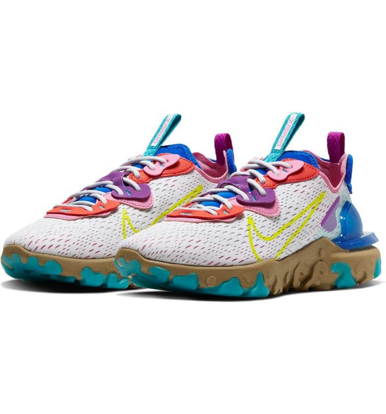 NIKE React Vision Sneaker, Main, color, 021