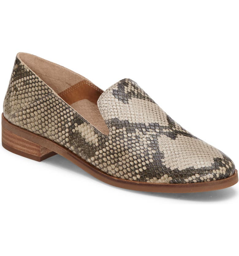 LUCKY BRAND Cahill Flat, Main, color, CHINCHILLA LEATHER