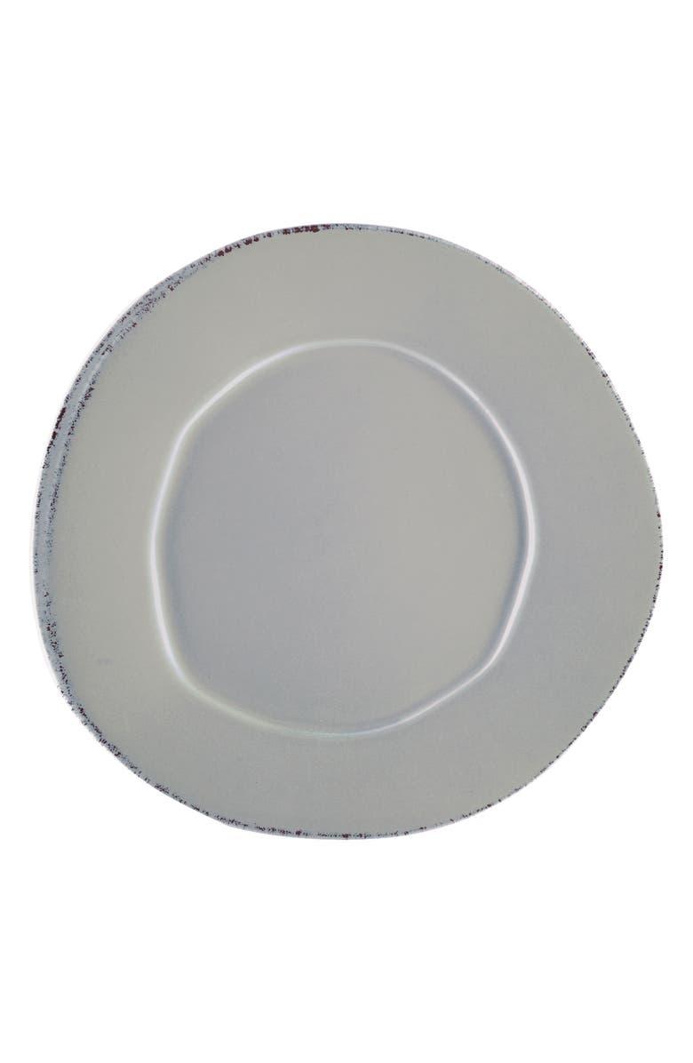 VIETRI Lastra Stoneware Dinner Plate