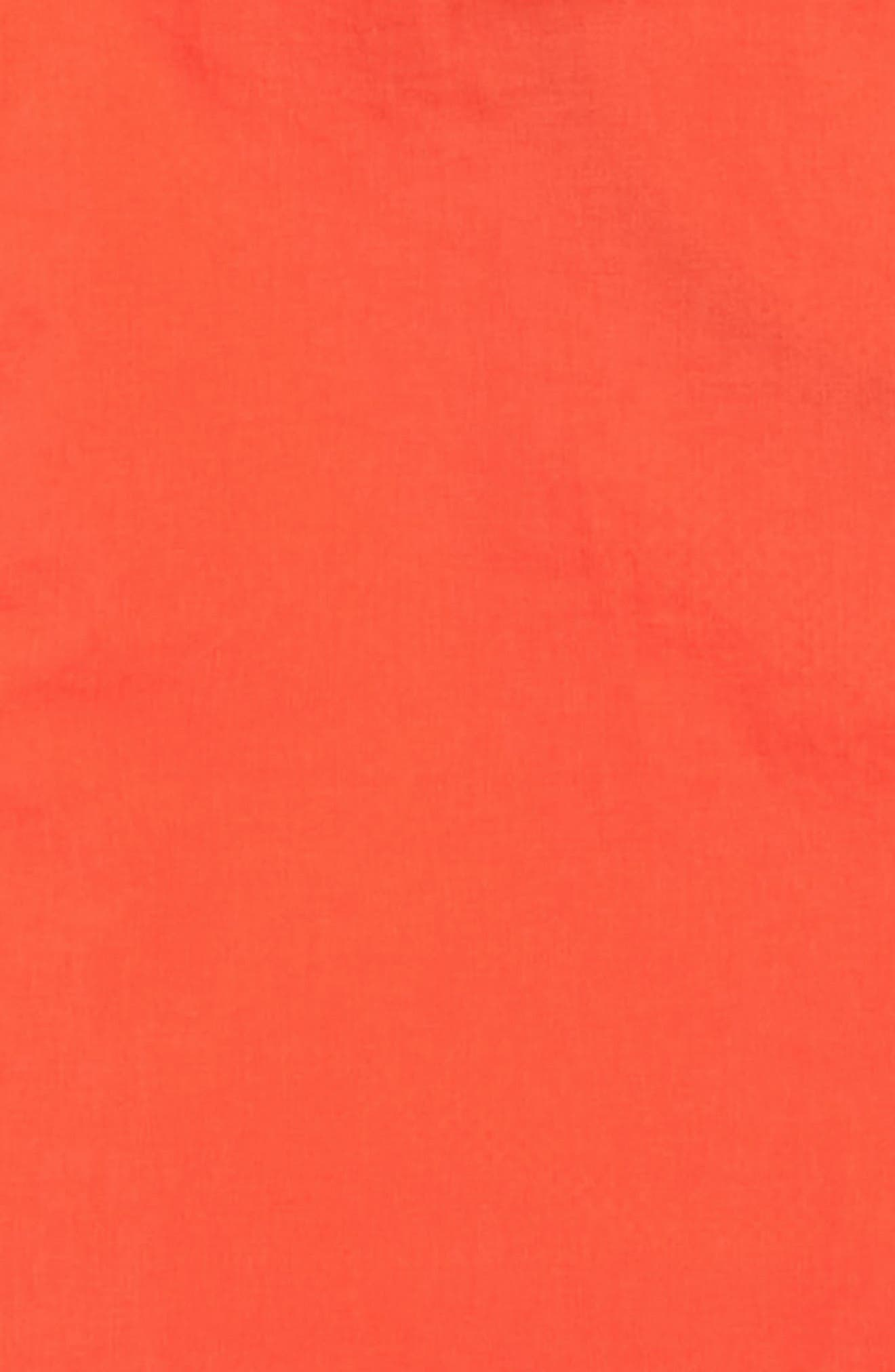 ,                             Austin Logo Hooded Jacket,                             Alternate thumbnail 3, color,                             ORANGE RED
