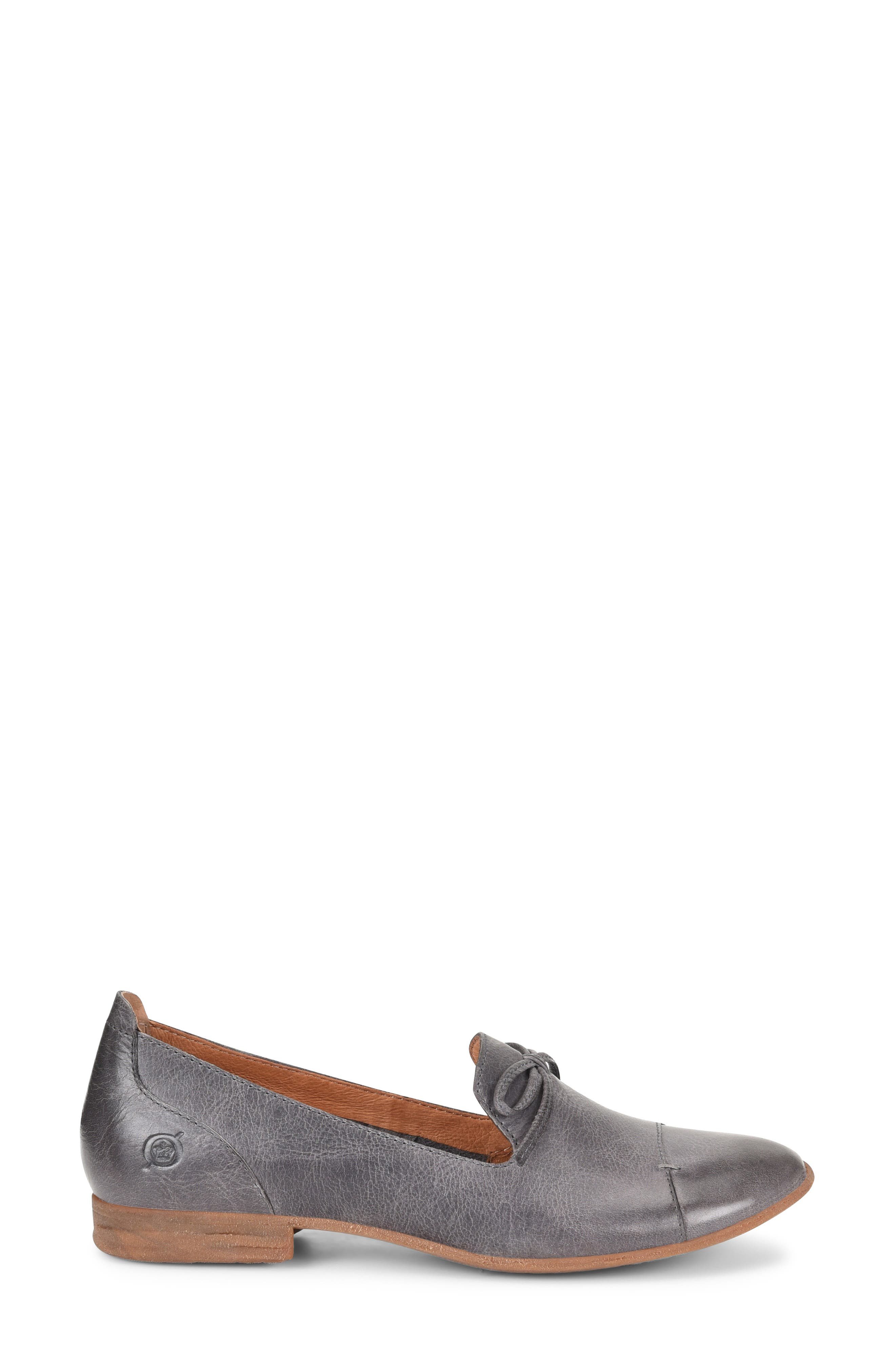 ,                             Gallatin Loafer,                             Alternate thumbnail 3, color,                             GREY LEATHER