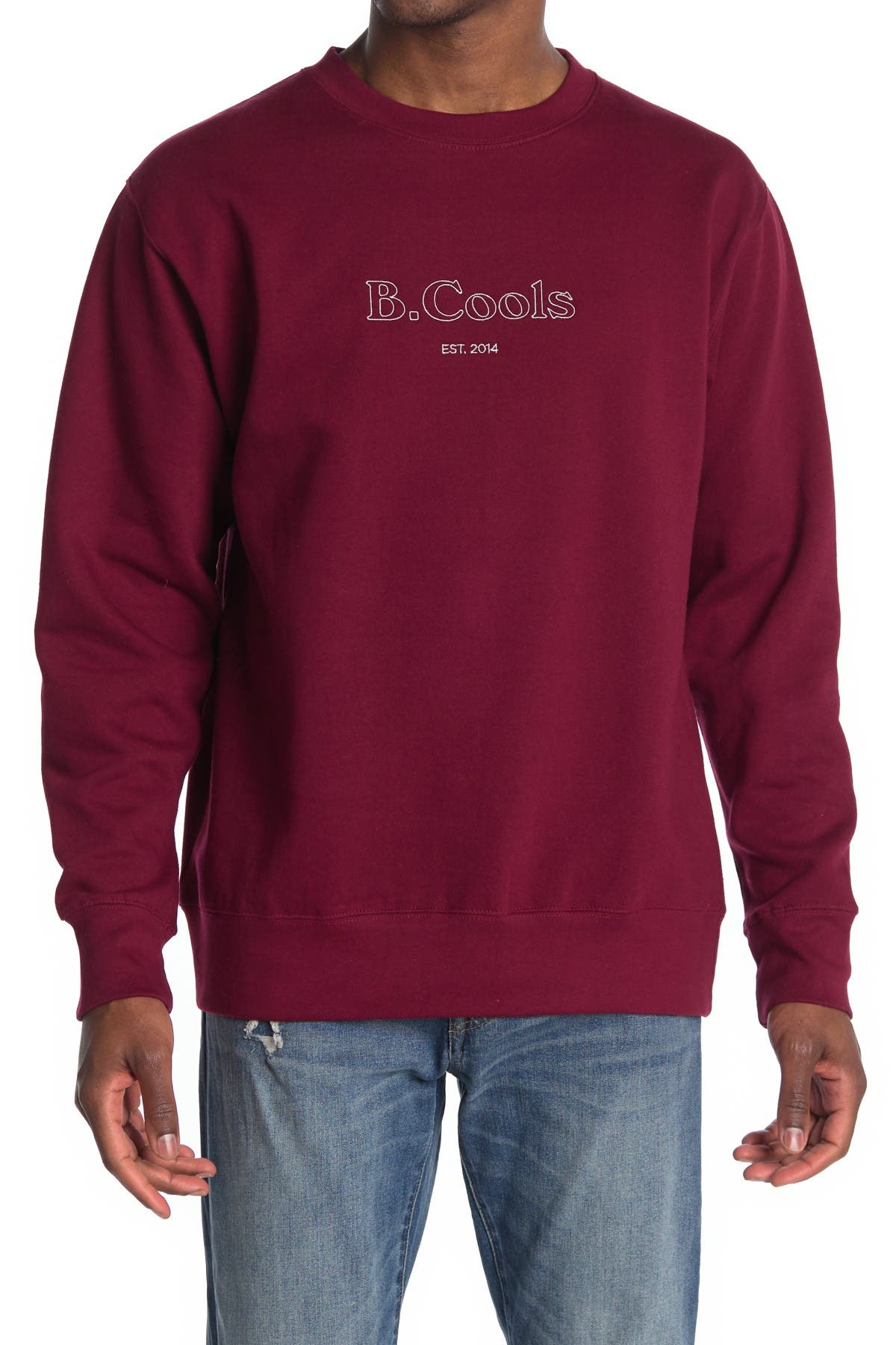 Image of Barney Cools Logo Crew Neck Sweatshirt