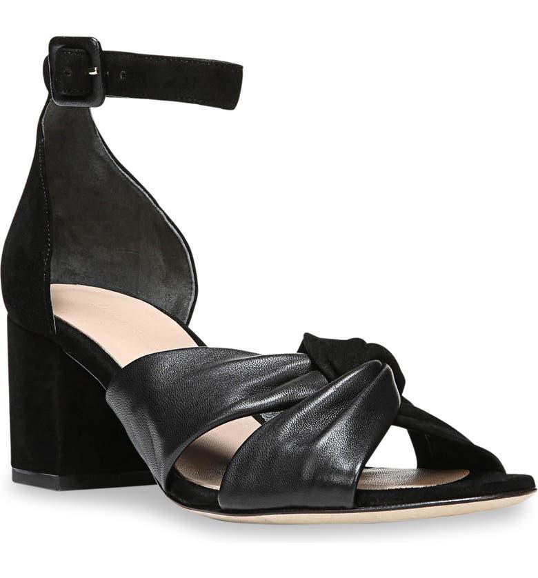DIANE VON FURSTENBERG Pasadena Ankle Strap Sandal, Main, color, 001