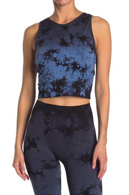 Image of Max Studio Dawn Tie-Dye Crop Top