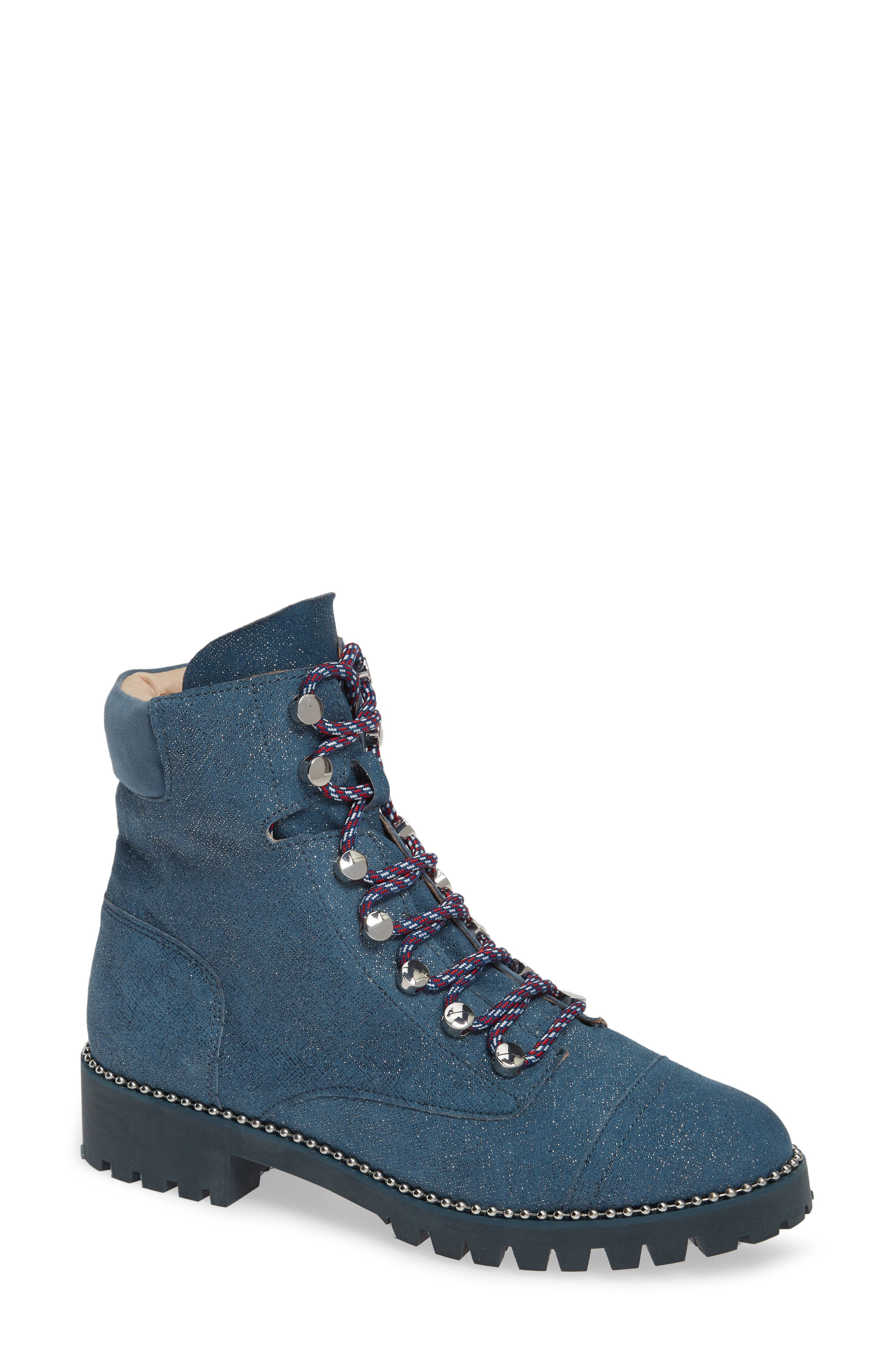 ,                             Trekker Boot,                             Main thumbnail 1, color,                             GLITTER DENIM