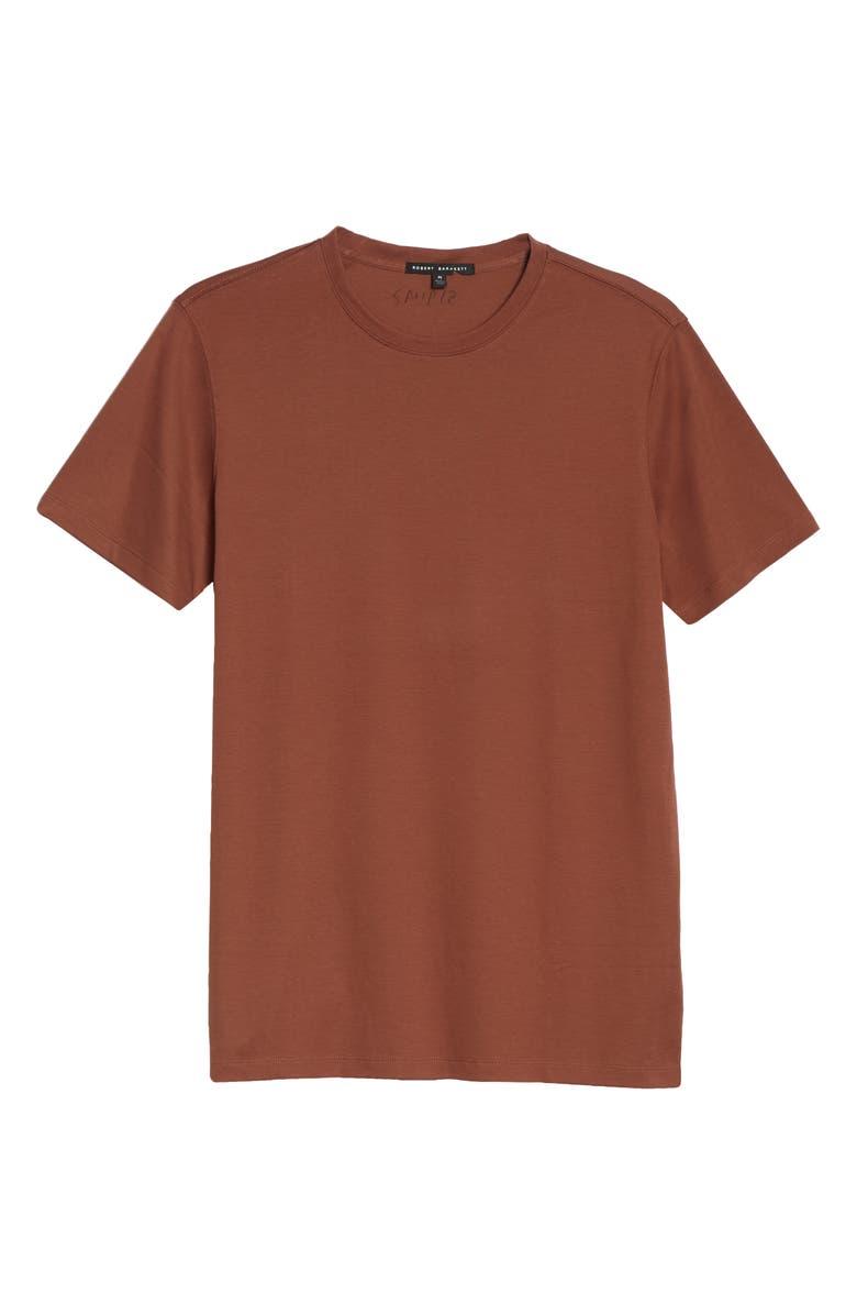 ROBERT BARAKETT Georgia Crewneck T-Shirt, Main, color, RUST