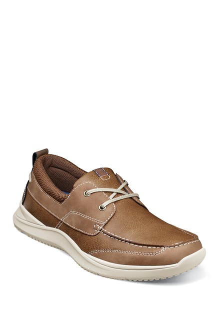 Image of NUNN BUSH Conway Moc Toe Boat Shoe - Wide Width Available