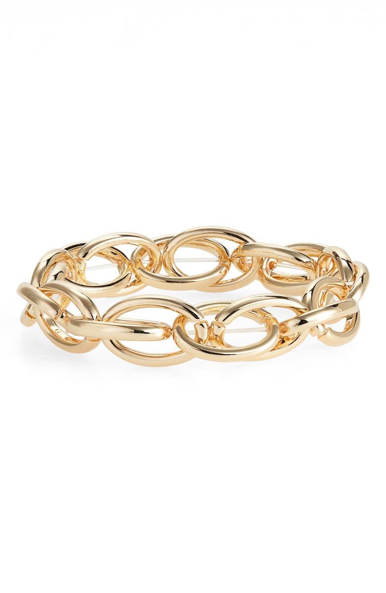 Halogen Link Stretch Bracelet