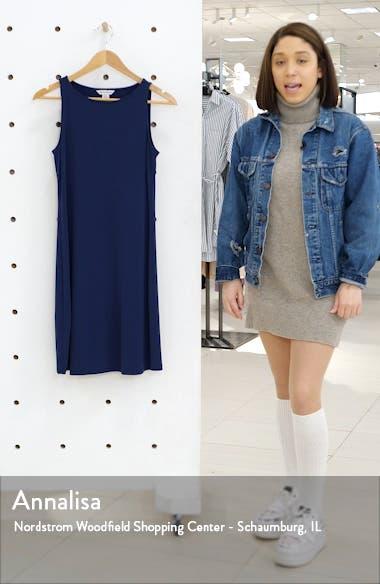 Matte Jersey Sleeveless Dress, sales video thumbnail