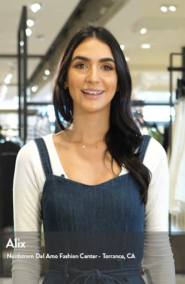 Sabenne Long Sleeve Midi Shirtdress, sales video thumbnail