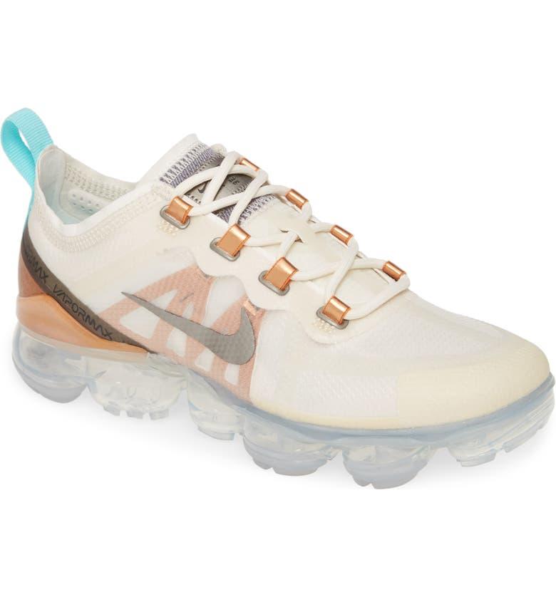 NIKE Air VaporMax 2019 SE Sneaker, Main, color, PHANTOM/ PEWTER/ TAWNY