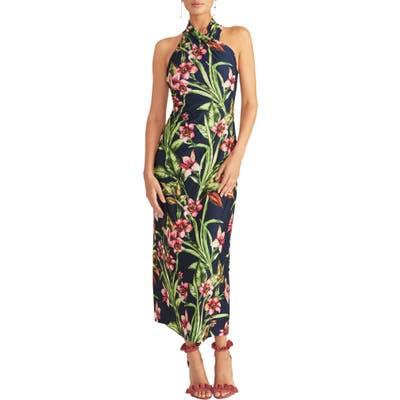 Rachel Rachel Roy Harlan Print Jersey Maxi Dress, Blue