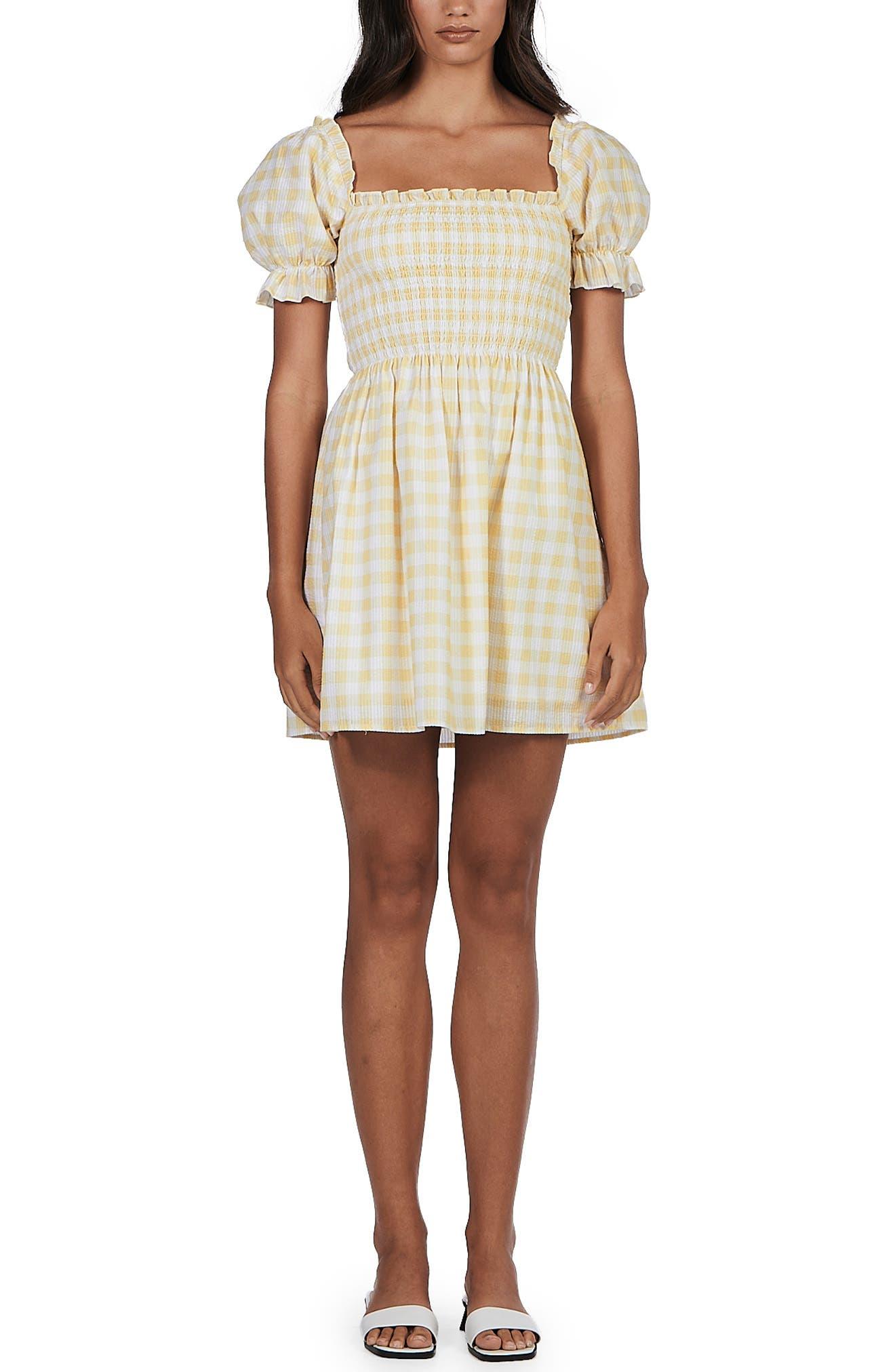 Sienna Puff Sleeve Minidress