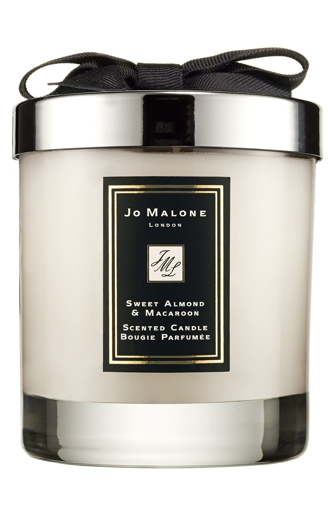 ,                             Jo Malone<sup>™</sup> Just Like Sunday - Sweet Almond & Macaroon Candle,                             Main thumbnail 1, color,                             NO COLOR