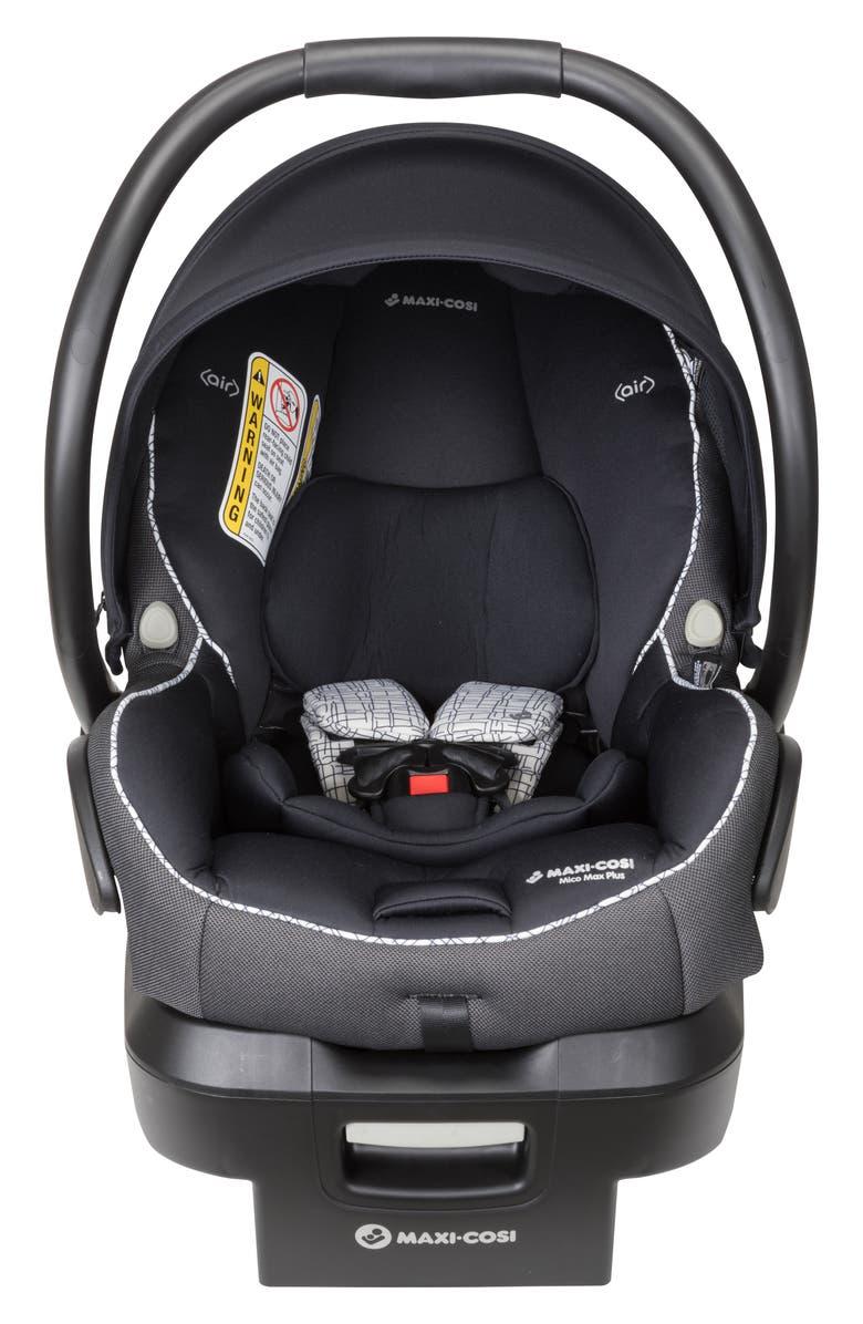 MAXI-COSI<SUP>®</SUP> Mico Max Plus Infant Car Seat, Main, color, INK ETCH