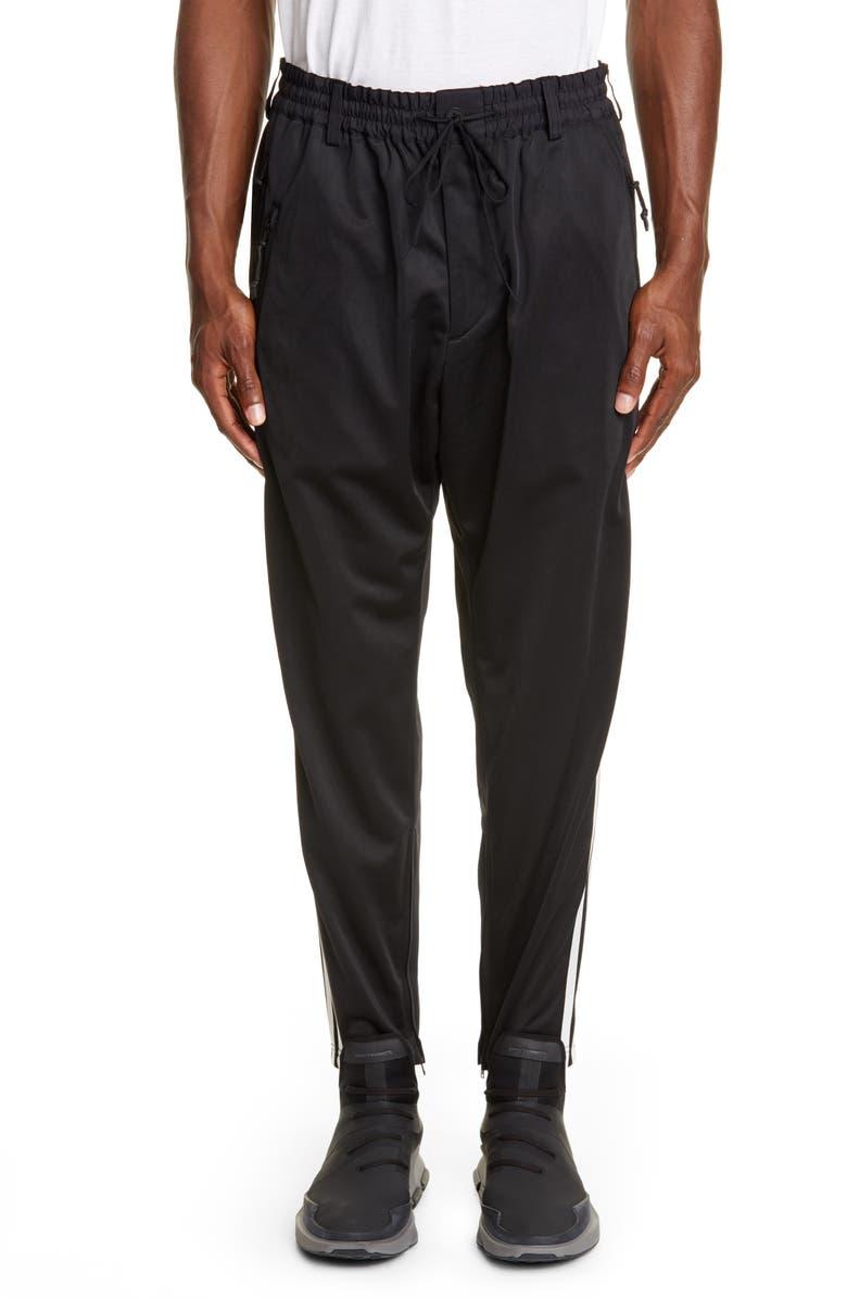 Y-3 M3 STP Track Pants, Main, color, BLACK/ ECRU/ BLACK