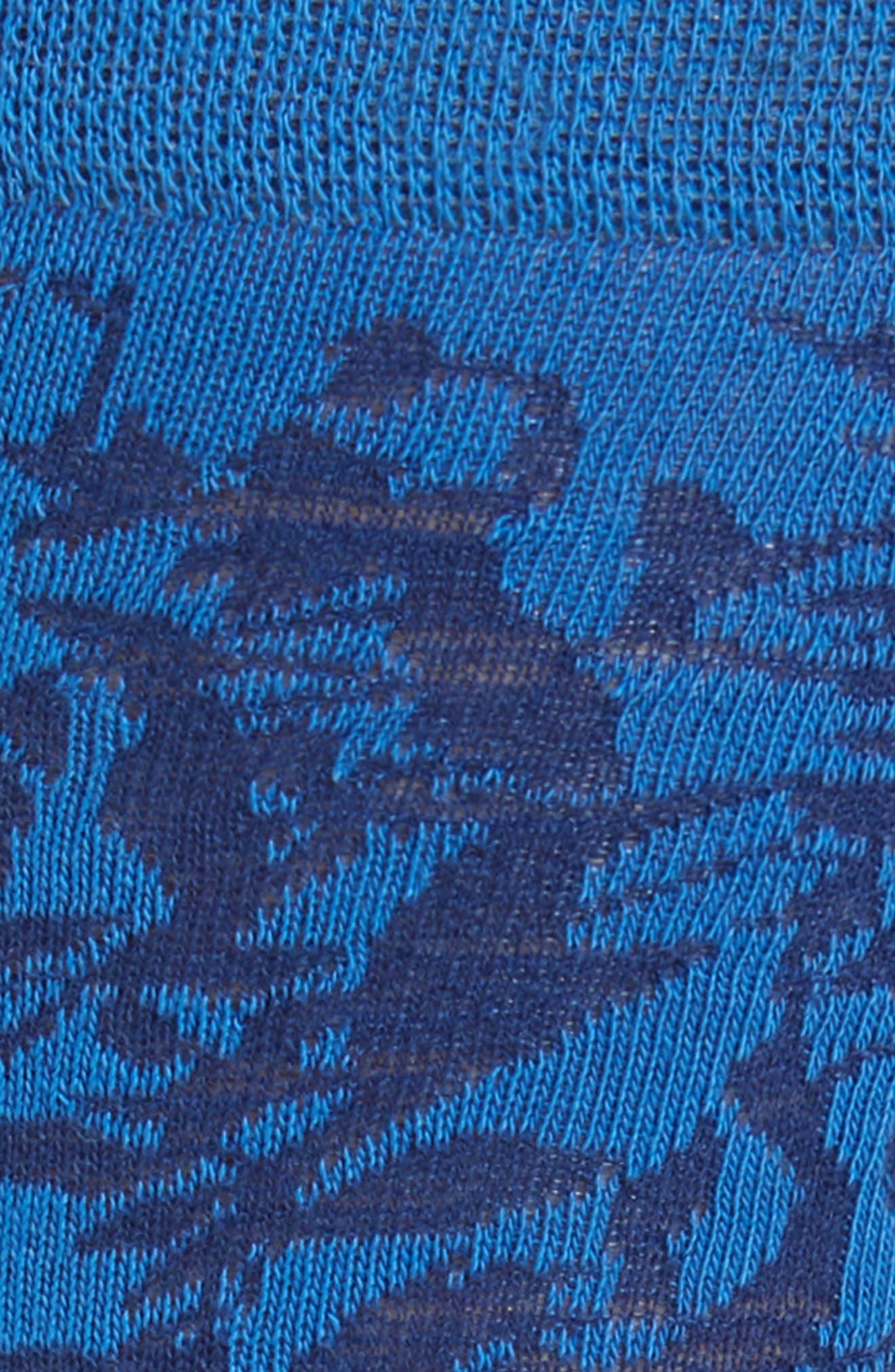 ,                             Leaf Socks,                             Alternate thumbnail 2, color,                             BLUE