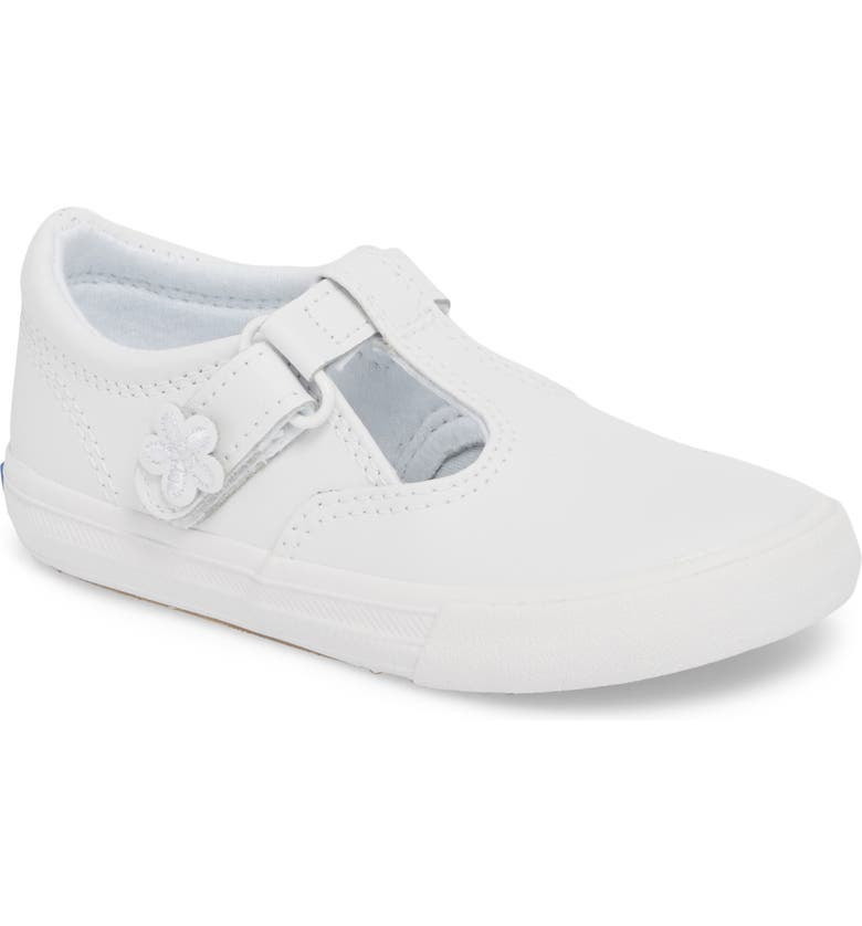 KEDS<SUP>®</SUP> Daphne T-Strap Sneaker, Main, color, NEW WHITE