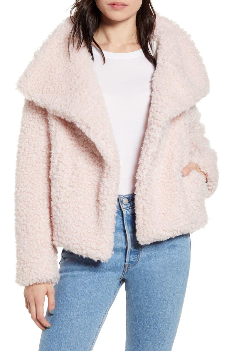 BAND OF GYPSIES Whole Lotta Love Fleece Jacket, Main, color, 650
