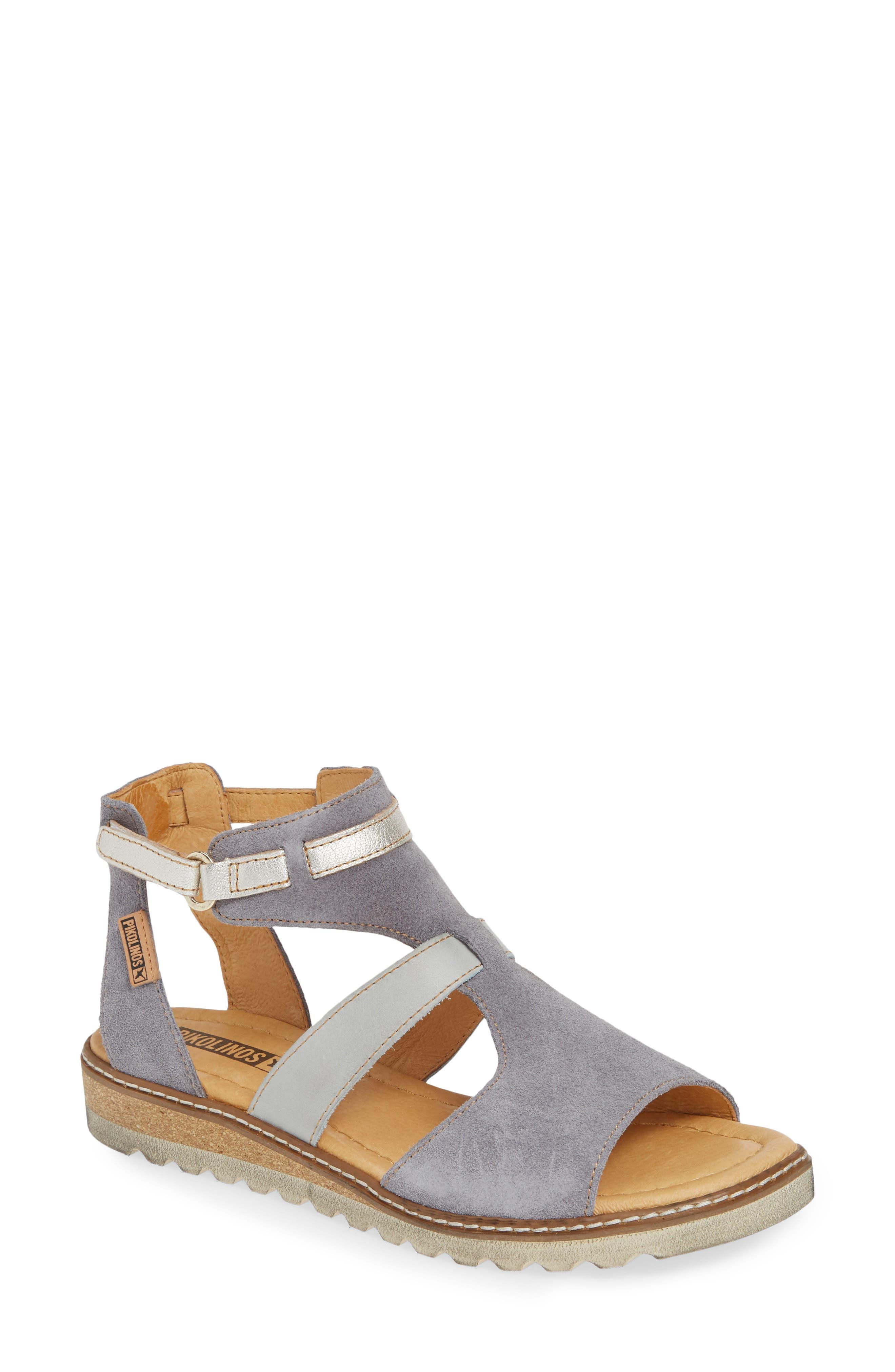 Pikolinos Alcudia Multiband Sandal, Blue
