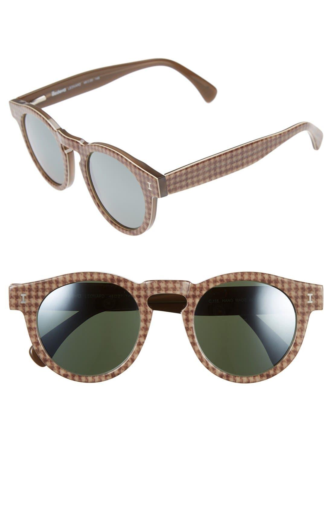 ,                             'Leonard' 47mm Sunglasses,                             Main thumbnail 83, color,                             208