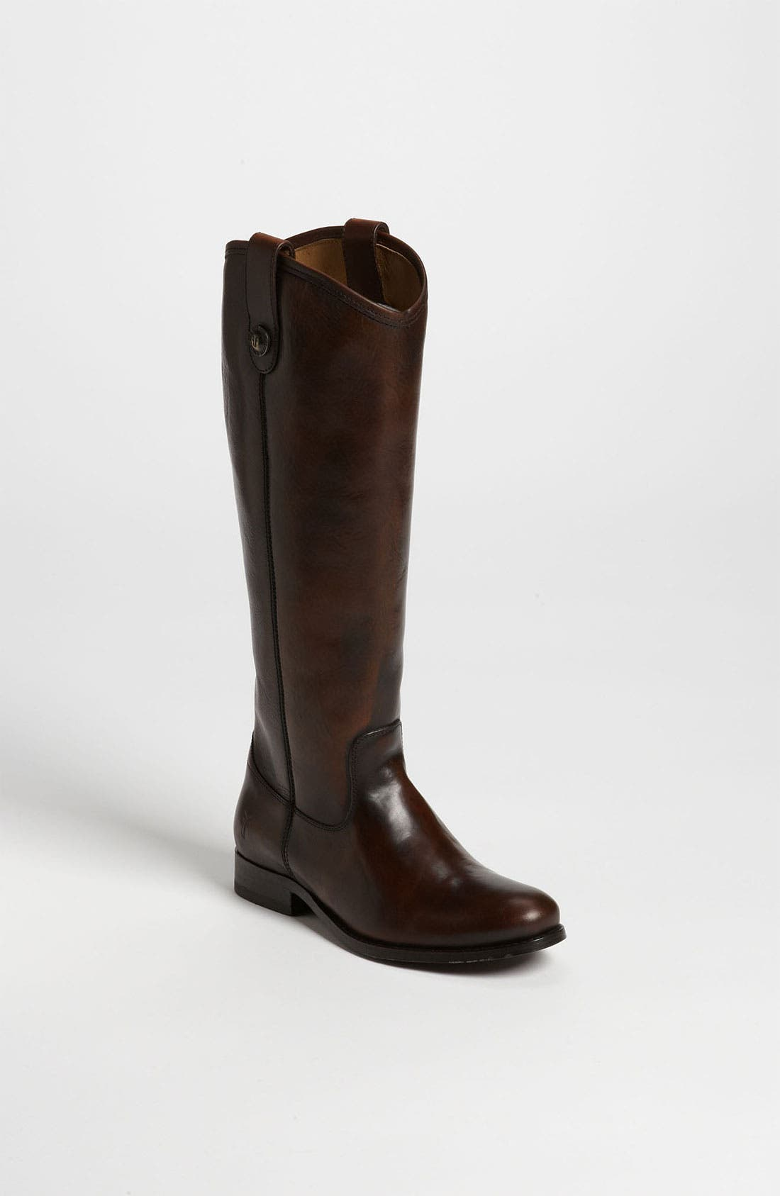,                             'Melissa Button' Leather Riding Boot,                             Main thumbnail 38, color,                             201