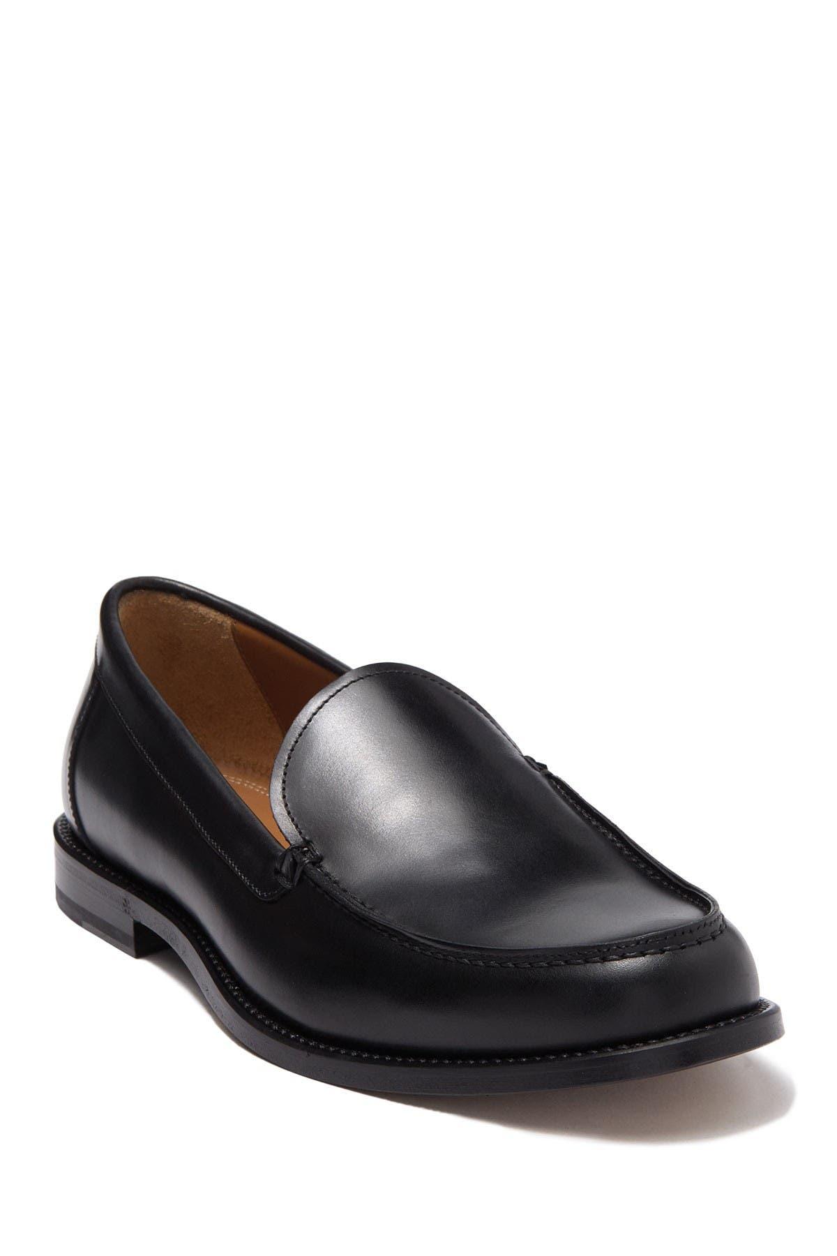 Image of Antonio Maurizi Apron Toe Leather Loafer